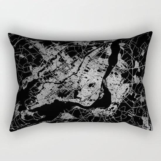 montreal map Rectangular Pillow