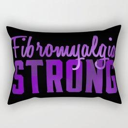 Fibromyalgia Strong Rectangular Pillow