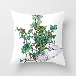 Plantae Alley 1 Throw Pillow