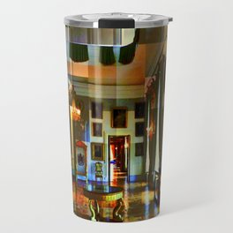 Castle and space in Photo Art Travel Mug