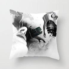 Expulsion Throw Pillow