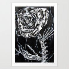 Rose Vertebrae  Art Print