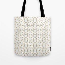 Golden Deco Golden Pattern Tote Bag