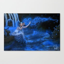 Caribbean Blue Canvas Print