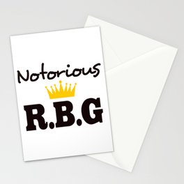 Notorious R.B.G Stationery Cards