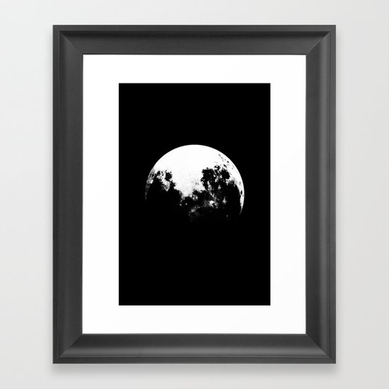 MOOON Framed Art Print