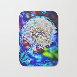 Abstract - Perfektion - Pusteblume Bath Mat