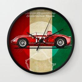 Targa Florio Vintage Wall Clock