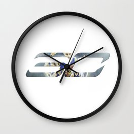 Steph Curry Wall Clock