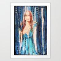 uncensored Beauty Art Print