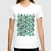 feathers T-shirts featuring Feathers by Kakel