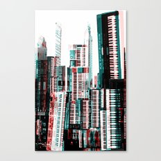 Keyboard Dreams Canvas Print