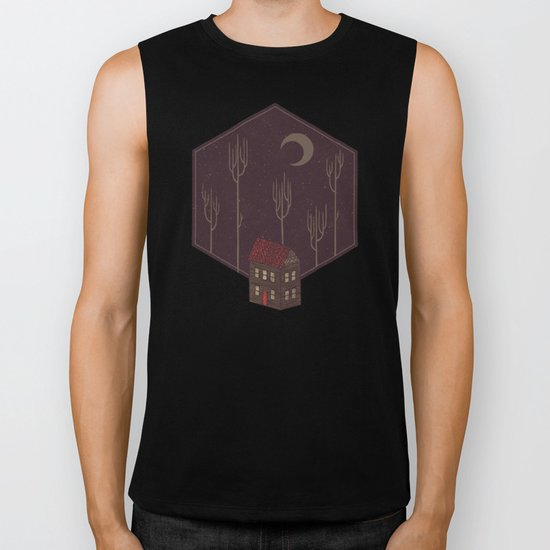 Still Night Biker Tank
