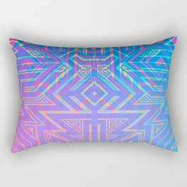 Tron-ish Rectangular Pillow