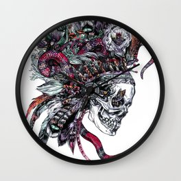 Death God Itzamna Wall Clock