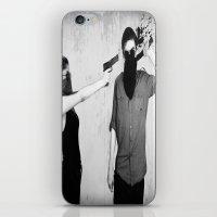splatter iPhone & iPod Skins featuring Splatter by Brandon Juarez