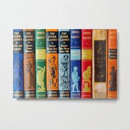 Vintage Children's Books Metal Print