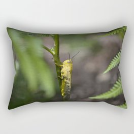 Yellow grasshopper Rectangular Pillow