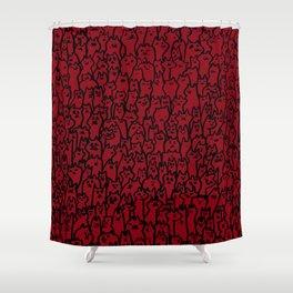 Silly Kitties Shower Curtain