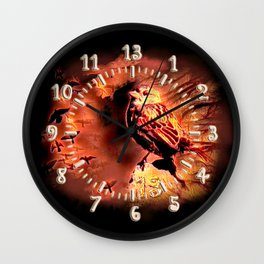 Sparrow Hell Wall Clock