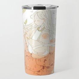 grapefruit honey tea. Travel Mug