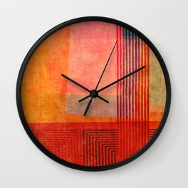 """""""A Morte do Velho Chico"""" Inspired by the """"Quintet Amorial"""" music. Wall Clock"""