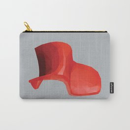 Panton Chair polygon art Carry-All Pouch