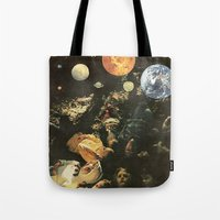 maps Tote Bags featuring MAPS by Ben Giles