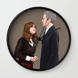 Doctor Who - I'm Right Here Wall Clock