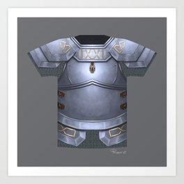 Armor Series: Dwarven Plate Art Print