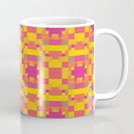 High Definition Modern African Quilt Coffee Mug