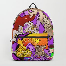 Wizzin' All Over The Flora Backpack