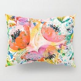 flowered Pillow Sham