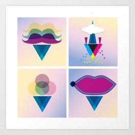 C.M.Y Art Print