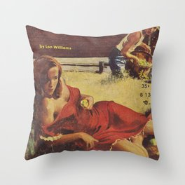 Shack Baby by Lon Williams Throw Pillow