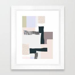 On the wall #2 Framed Art Print