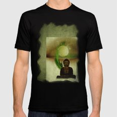 Buddha 201 Mens Fitted Tee X-LARGE Black