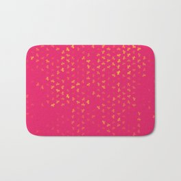 capricorn zodiac sign pattern py Bath Mat