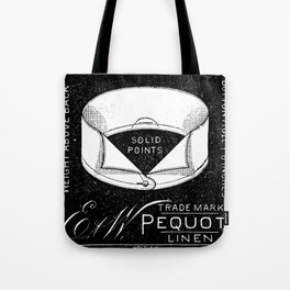 black and white vintage shirt collar retro laundry room Tote Bag