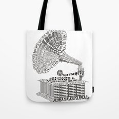 Music just for you Tote Bag