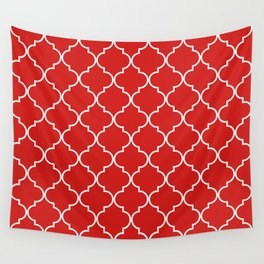 Quatrefoil - Candy Wall Tapestry