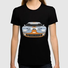 Ford GT40 in Gulf Oil livery T-shirt