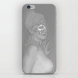 Venetian Mask 5 iPhone Skin