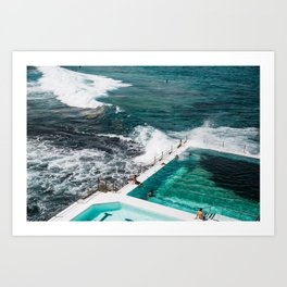 Sydney Summer Stories Art Print