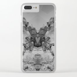 mineral concept Clear iPhone Case