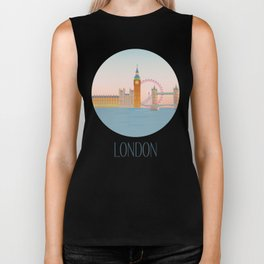London City Art Biker Tank