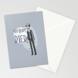 nobody DIED Stationery Cards