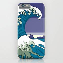 Great Wave of Humboldt - Storm iPhone Case