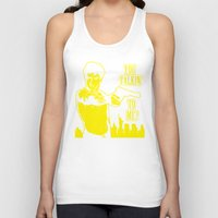 taxi driver Tank Tops featuring Taxi driver art by Buby87