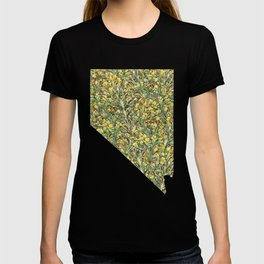 Nevada in Flowers T-shirt